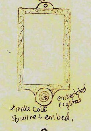 Clay pendant design 2