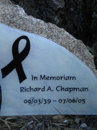Dick Chapman Memoriam Writing