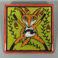 Folk Art Fox