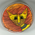 Yellow Cat Bowl
