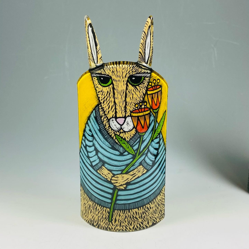 HARE CANDLE SCREEN 1